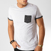 /achat-t-shirts-poche/deeluxe-tee-shirt-poche-balder-gris-chine-noir-191414.html