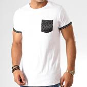 /achat-t-shirts-poche/deeluxe-tee-shirt-poche-balder-blanc-noir-191416.html