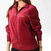 /achat-vestes/diesel-veste-zippee-femme-velours-a-bandes-max-00s1e0-0pawh-bordeaux-dore-191408.html