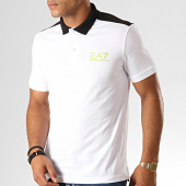 /achat-polos-manches-courtes/ea7-polo-manches-courtes-6gpf03-pj03z-blanc-noir-vert-anis-191294.html