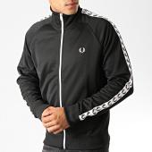 /achat-vestes/fred-perry-veste-zippee-a-bandes-j6231-noir-blanc-191342.html