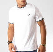 /achat-t-shirts/fred-perry-tee-shirt-twin-tipped-m1588-blanc-noir-191347.html