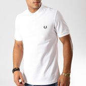 /achat-polos-manches-courtes/fred-perry-polo-manches-courtes-plain-m6000-blanc-191355.html