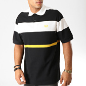 /achat-polos-manches-courtes/fred-perry-polo-manches-courtes-bold-stripe-m750-noir-blanc-191360.html