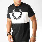 /achat-t-shirts/fred-perry-tee-shirt-printed-laurel-wreath-m7517-noir-blanc-191369.html