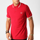 /achat-polos-manches-courtes/fred-perry-polo-manches-courtes-twin-tipped-m3600-rouge-bordeaux-blanc-191378.html