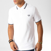 /achat-polos-manches-courtes/fred-perry-polo-manches-courtes-twin-tipped-m3600-blanc-bleu-marine-191379.html