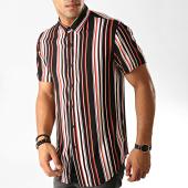 /achat-chemises-manches-courtes/frilivin-chemise-manches-courtes-dx-2202-noir-blanc-191289.html