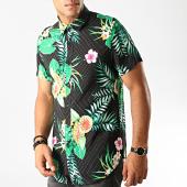 /achat-chemises-manches-courtes/frilivin-chemise-manches-courtes-dx-2219-noir-floral-191292.html
