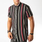 /achat-chemises-manches-courtes/frilivin-chemise-manches-courtes-dx2201-noir-191317.html