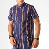 /achat-chemises-manches-courtes/frilivin-chemise-manches-courtes-dx2207-bleu-marine-191321.html