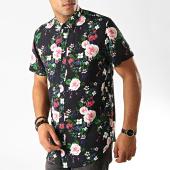 /achat-chemises-manches-courtes/frilivin-chemise-manches-courtes-dx2179-noir-floral-191327.html
