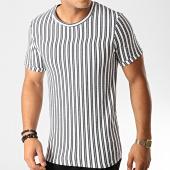 /achat-t-shirts/frilivin-tee-shirt-a-rayures-9295-blanc-bleu-marine-gris-191370.html