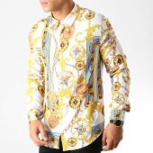 /achat-chemises-manches-longues/frilivin-chemise-manches-longues-renaissance-682818-blanc-jaune-bleu-191372.html