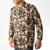 /achat-chemises-manches-longues/frilivin-chemise-manches-longues-7530-h1908-noir-floral-renaissance-191437.html