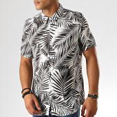 /achat-chemises-manches-courtes/frilivin-chemise-manches-courtes-bm1043r-blanc-noir-floral-191447.html