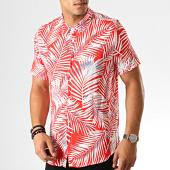 /achat-chemises-manches-courtes/frilivin-chemise-manches-courtes-bm1043r-rouge-blanc-floral-191448.html