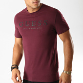 /achat-t-shirts/guess-tee-shirt-slim-m94i39-j1300-violet-191383.html