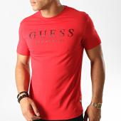 /achat-t-shirts/guess-tee-shirt-slim-m94i39-j1300-rouge-191385.html