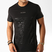 /achat-t-shirts/guess-tee-shirt-slim-m94i83-r5jk0-noir-dore-191390.html