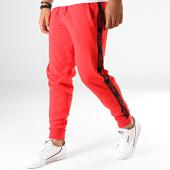 /achat-pantalons-joggings/hugo-by-hugo-boss-pantalon-jogging-a-bandes-daschkent-50414429-rouge-191403.html