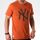/achat-t-shirts/new-era-tee-shirt-mlb-seasonal-team-logo-new-york-yankees-12033498-orange-191459.html