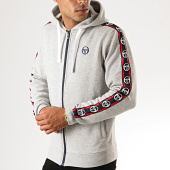 /achat-sweats-zippes-capuche/sergio-tacchini-sweat-zippe-capuche-a-bandes-dennet-38317-gris-chine-191513.html