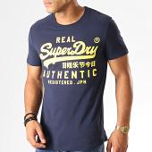 /achat-t-shirts/superdry-tee-shirt-vintage-authentic-fluro-m1000056b-bleu-marine-jaune-191450.html
