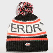 /achat-bonnets/superdry-bonnet-superdry-logo-noir-orange-191481.html