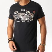 /achat-t-shirts/superdry-tee-shirt-camouflage-vintage-logo-m1000057b-noir-marron-191490.html