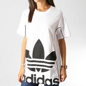 /achat-t-shirts-longs-oversize/adidas-tee-shirt-oversize-femme-ed4771-blanc-noir-191637.html