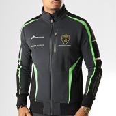 /achat-vestes/lamborghini-veste-zippee-a-bandes-squadra-corse-lcmfl319604-gris-anthracite-noir-vert-191602.html