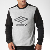 /achat-sweats-col-rond-crewneck/umbro-sweat-crewneck-729970-60-noir-gris-chine-191629.html