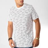 /achat-t-shirts/calvin-klein-tee-shirt-modulus-logo-print-1699-blanc-noir-191690.html