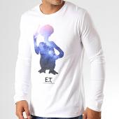 /achat-t-shirts-manches-longues/et-lextra-terrestre-tee-shirt-manches-longues-stars-blanc-191756.html