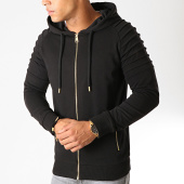 /achat-sweats-zippes-capuche/lbo-sweat-zippe-capuche-gold-869-noir-or-191701.html