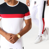 /achat-ensembles-survetement/lbo-ensemble-tee-shirt-et-pantalon-jogging-tricolore-826-blanc-rouge-bleu-marine-191729.html