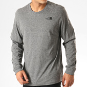 /achat-t-shirts-manches-longues/the-north-face-tee-shirt-manches-longues-simple-dome-0a3l-gris-chine-191658.html