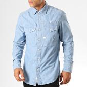 /achat-chemises-manches-longues/g-star-chemise-jean-slim-cpo-d14068-9416-bleu-clair-191872.html
