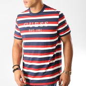 /achat-t-shirts/guess-tee-shirt-m94i77-k8rc0-bleu-marine-blanc-rouge-191914.html
