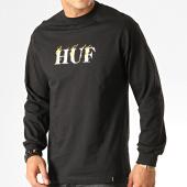 /achat-t-shirts-manches-longues/huf-tee-shirt-manches-longues-phoenix-noir-blanc-jaune-191845.html