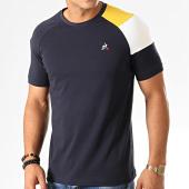 /achat-t-shirts/le-coq-sportif-tee-shirt-tricolore-n2-1922190-bleu-marine-jaune-blanc-191956.html