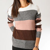 /achat-pulls/only-pull-femme-nora-treats-gris-chine-ecru-marron-rose-191892.html