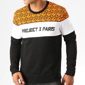 /achat-sweats-col-rond-crewneck/project-x-sweat-crewneck-1920024-noir-blanc-orange-191846.html
