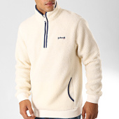 https://www.laboutiqueofficielle.com/achat-sweats-col-zippe/schott-nyc-sweat-col-zippe-mouton-andric-blanc-casse-bleu-marine-191831.html