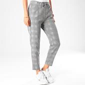 /achat-pantalons-carreaux/vero-moda-pantalon-femme-a-carreaux-eva-loose-gris-191807.html