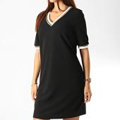 /achat-robes/vero-moda-robe-femme-manches-courtes-new-sira-noir-dore-191813.html