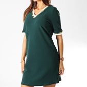 /achat-robes/vero-moda-robe-femme-manches-courtes-new-sira-vert-dore-191816.html