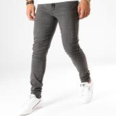 /achat-pantalons-carreaux/blend-pantalon-carreaux-20708724-gris-anthracite-rouge-191988.html