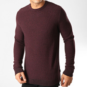 /achat-pulls/jack-and-jones-pull-structure-bordeaux-chine-192000.html